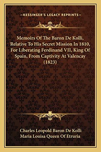 Memoirs Of The Baron De Kolli, Relative