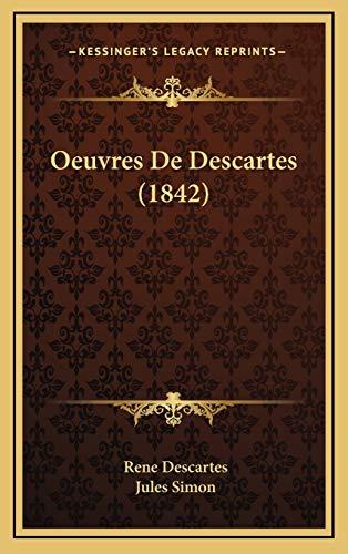 9781168274526: Oeuvres de Descartes (1842)