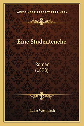 9781168425997: Eine Studentenehe: Roman (1898)