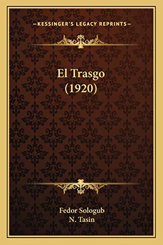 9781168426048: El Trasgo (1920) (Spanish Edition)