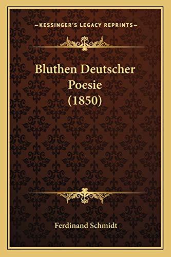9781168435637: Bluthen Deutscher Poesie (1850)