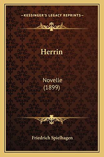 9781168439444: Herrin: Novelle (1899)