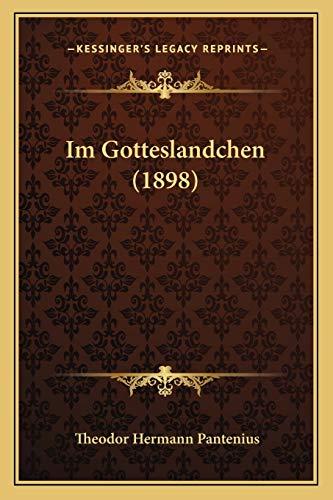 9781168464149: Im Gotteslandchen (1898) (German Edition)