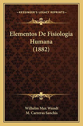 9781168495587: Elementos de Fisiologia Humana (1882)