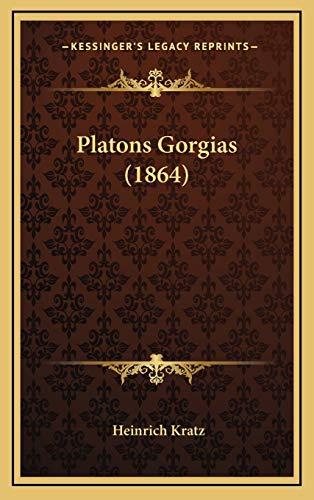 9781168538635: Platons Gorgias (1864) (German Edition)