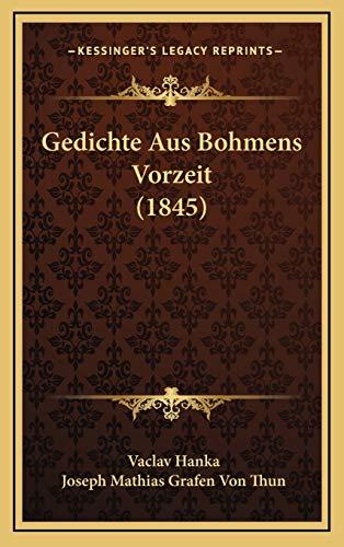 9781168541260: Gedichte Aus Bohmens Vorzeit (1845)