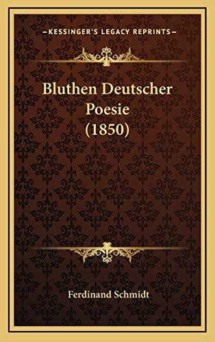 9781168575838: Bluthen Deutscher Poesie (1850)
