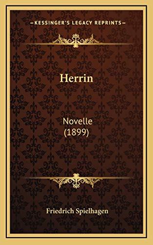 9781168579454: Herrin: Novelle (1899)
