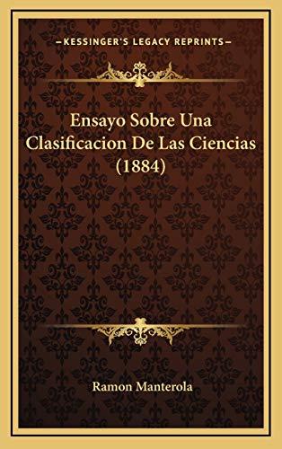 9781168595683: Ensayo Sobre Una Clasificacion De Las Ciencias (1884) (Spanish Edition)