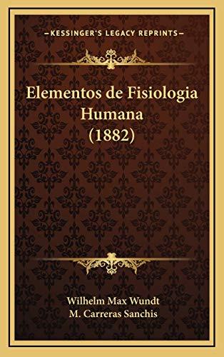 9781168632005: Elementos de Fisiologia Humana (1882)