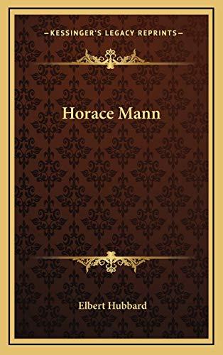 9781168634597: Horace Mann