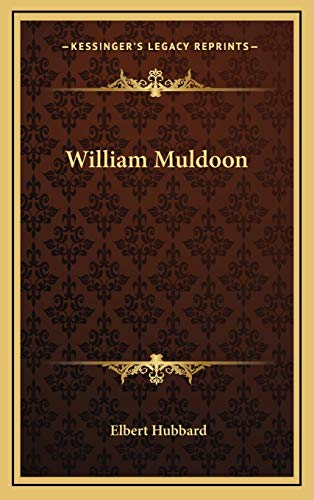 9781168634610: William Muldoon