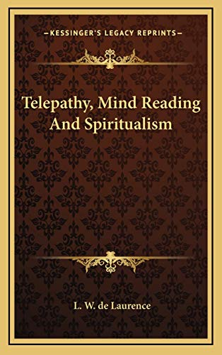 9781168642110: Telepathy, Mind Reading And Spiritualism