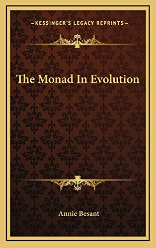 9781168644268: The Monad In Evolution