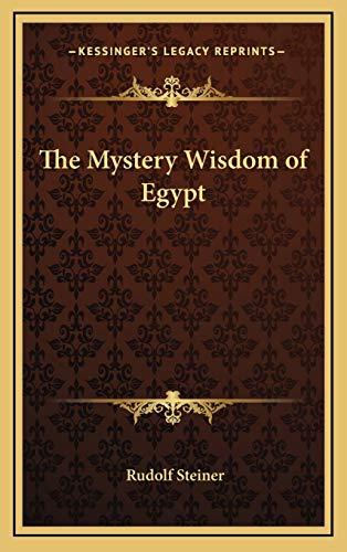 9781168645524: The Mystery Wisdom of Egypt
