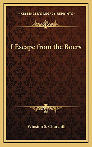 9781168652379: I Escape from the Boers