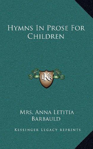 9781168655370: Hymns In Prose For Children