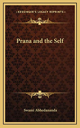 9781168656568: Prana and the Self