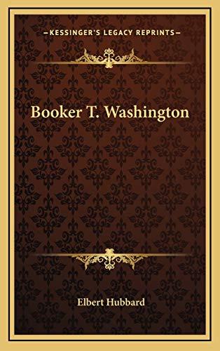 9781168663238: Booker T. Washington