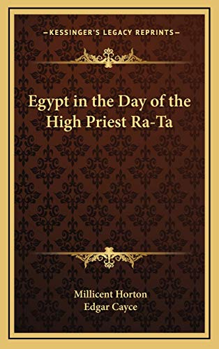 9781168670625: Egypt in the Day of the High Priest Ra-Ta