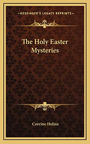 9781168671165: The Holy Easter Mysteries
