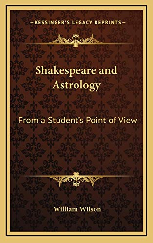 9781168671585: Shakespeare and Astrology: From a Student's Point of View