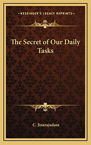 9781168674968: The Secret of Our Daily Tasks