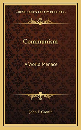 9781168677488: Communism: A World Menace