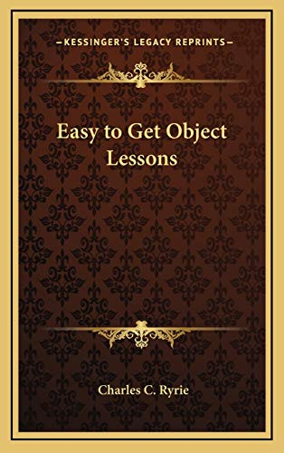9781168679024: Easy to Get Object Lessons