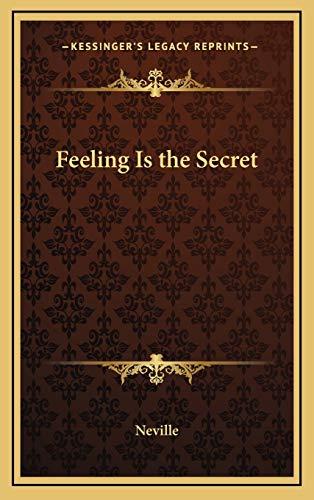 9781168709080: Feeling Is the Secret