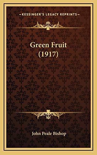 9781168746474: Green Fruit (1917)