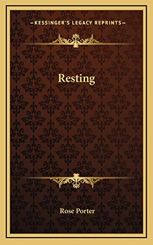9781168755582: Resting