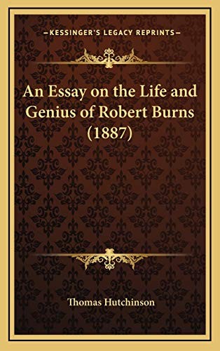 influences on robert burns essay Recommended citation montgomery, james m (1998) how robert burns captured america, studies in scottish literature: vol biographical records are replete with the influence of bums on our country's famous men in november boughs, an essay written between 1886 and 1888, he mused.