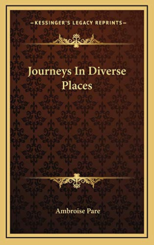 9781168785961: Journeys In Diverse Places