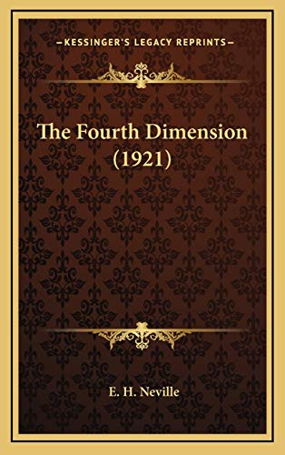 9781168787873: The Fourth Dimension (1921)