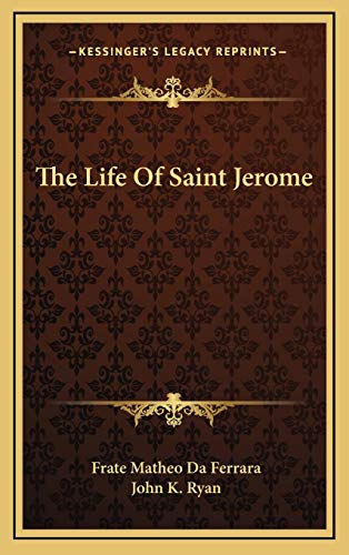 9781168803320: The Life Of Saint Jerome