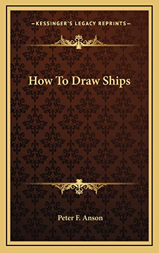 9781168803573: How To Draw Ships