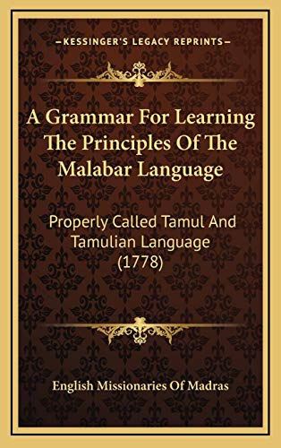A Grammar For Learning The Principles Of