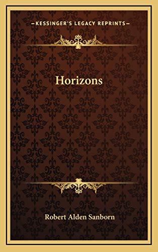9781168823700: Horizons