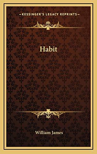 9781168839404: Habit