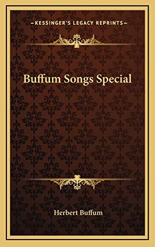 9781168839589: Buffum Songs Special