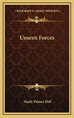 Unseen Forces (9781168840417) by Manly Palmer Hall