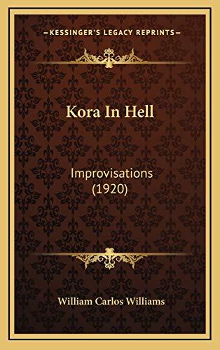 9781168962317: Kora In Hell: Improvisations (1920)