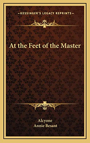9781169003705: At the Feet of the Master