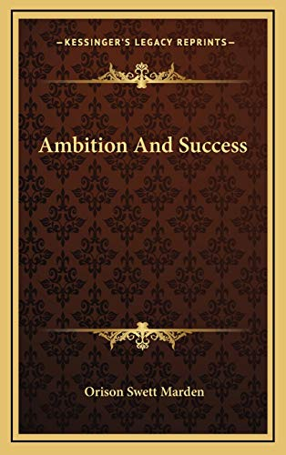 9781169017108: Ambition And Success