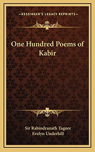 9781169031081: One Hundred Poems of Kabir