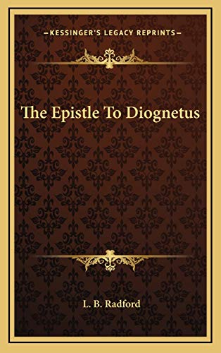 9781169031692: The Epistle To Diognetus