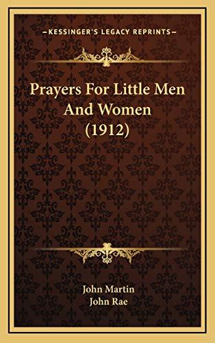 Prayers For Little Men And Women (1912)