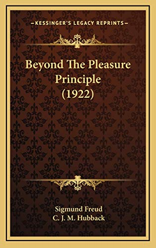 9781169074750: Beyond The Pleasure Principle (1922)