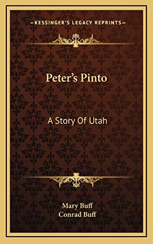 9781169082663: Peter's Pinto: A Story Of Utah
